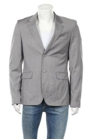 Мъжко сако Politix, Размер L, Цвят Сив, Вълна, Цена 6,05лв.