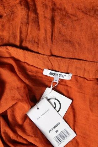 Пола About You, Размер S, Цвят Оранжев, Вискоза, Цена 11,81лв.