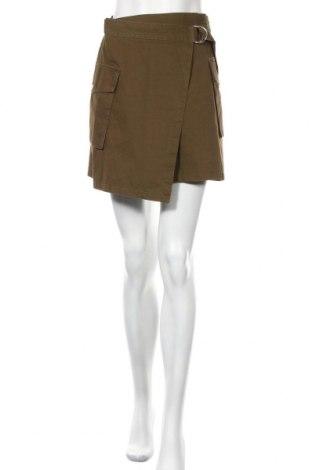 Пола H&M, Размер S, Цвят Зелен, Памук, Цена 9,75лв.