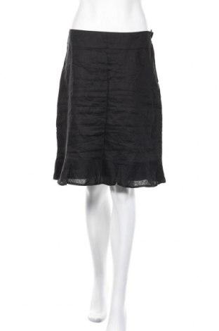 Пола H&M, Размер M, Цвят Черен, 100% рамия, Цена 18,75лв.