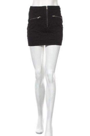 Пола H&M Divided, Размер S, Цвят Черен, 97% памук, 3% еластан, Цена 17,25лв.