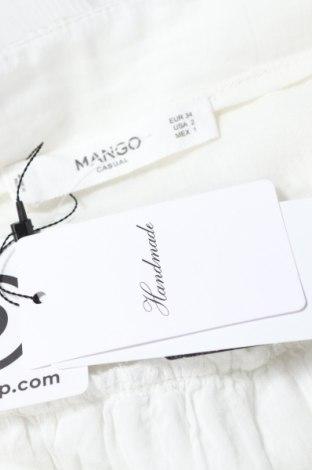 Пола Mango, Размер XS, Цвят Бял, Полиестер, Цена 15,40лв.