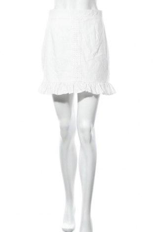 Пола Missguided, Размер S, Цвят Бял, Цена 28,50лв.