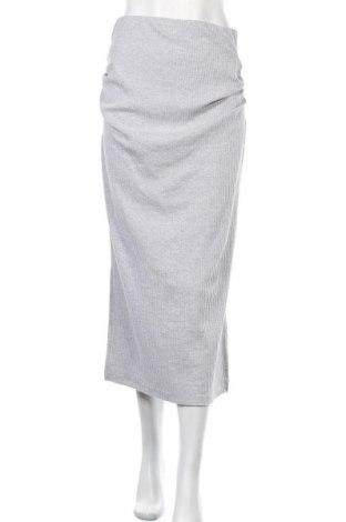 Пола за бременни Missguided, Размер S, Цвят Сив, 50% полиестер, 45% памук, 5% еластан, Цена 40,67лв.