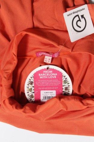 Пола Smash, Размер M, Цвят Оранжев, 95% вискоза, 5% еластан, Цена 11,00лв.