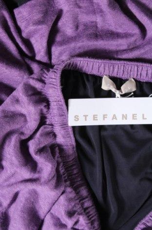 Пола Stefanel, Размер L, Цвят Лилав, 100% лен, Цена 66,75лв.