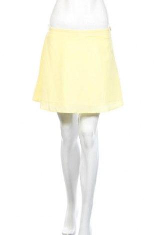 Пола Tobi, Размер S, Цвят Жълт, Полиестер, Цена 4,73лв.