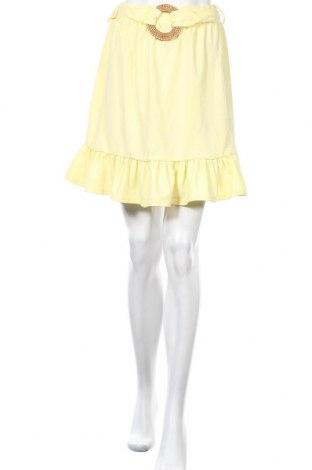 Пола Top Fashion, Размер XS, Цвят Жълт, Цена 27,00лв.