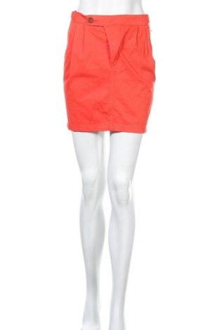 Пола Zara, Размер XS, Цвят Оранжев, Памук, Цена 6,82лв.