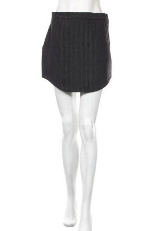 Пола Zara, Размер S, Цвят Черен, 63% полиестер, 33% вискоза, 4% еластан, Цена 11,88лв.