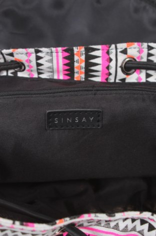 Раница Sinsay, Цвят Многоцветен, Текстил, Цена 23,10лв.