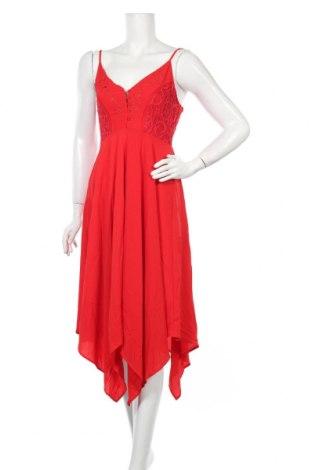 Φόρεμα Ax Paris, Μέγεθος M, Χρώμα Κόκκινο, Πολυεστέρας, Τιμή 13,51€