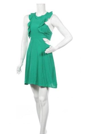 Φόρεμα Bershka, Μέγεθος L, Χρώμα Πράσινο, Βισκόζη, Τιμή 22,73€