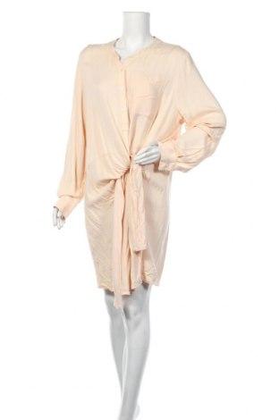 Šaty  DKNY, Velikost M, Barva Béžová, Viskóza, Cena  494,00Kč