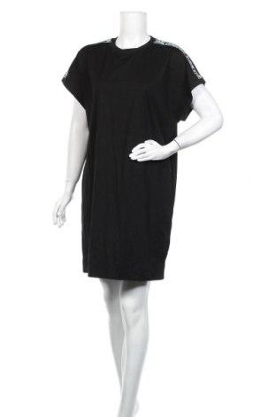 Рокля Karl Lagerfeld, Размер XL, Цвят Черен, 97% памук, 3% еластан, Цена 312,95лв.