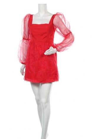 Šaty  Missguided, Velikost S, Barva Červená, Polyester, Cena  189,00Kč