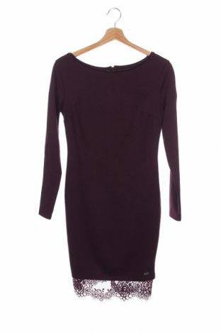 Φόρεμα Mohito, Μέγεθος XS, Χρώμα Βιολετί, 77% πολυεστέρας, 20% βισκόζη, 3% ελαστάνη, Τιμή 15,21€