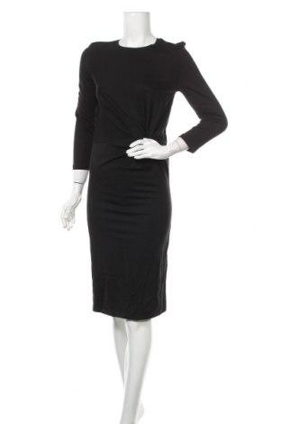 Φόρεμα Mohito, Μέγεθος M, Χρώμα Μαύρο, 65% βισκόζη, 30% πολυαμίδη, 5% ελαστάνη, Τιμή 13,36€