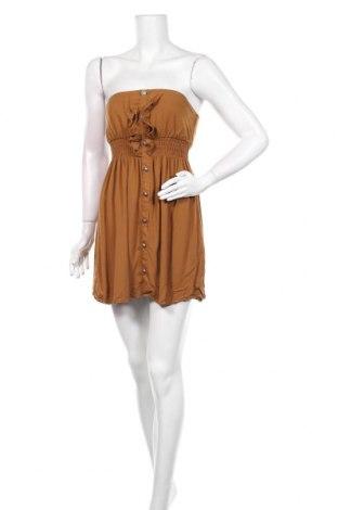Φόρεμα Poetry, Μέγεθος S, Χρώμα Καφέ, Βισκόζη, Τιμή 5,91€