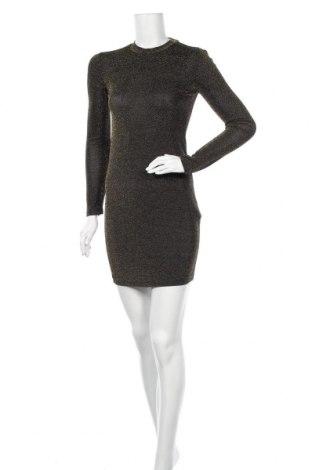 Φόρεμα Sinsay, Μέγεθος XS, Χρώμα Χρυσαφί, 85% πολυαμίδη, 10% μεταλλικά νήματα, 5% ελαστάνη, Τιμή 5,93€