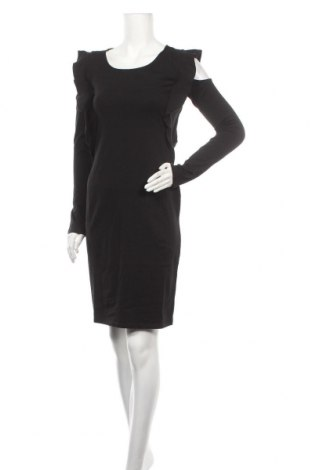 Рокля Sinsay, Размер M, Цвят Черен, 95% памук, 5% еластан, Цена 11,04лв.