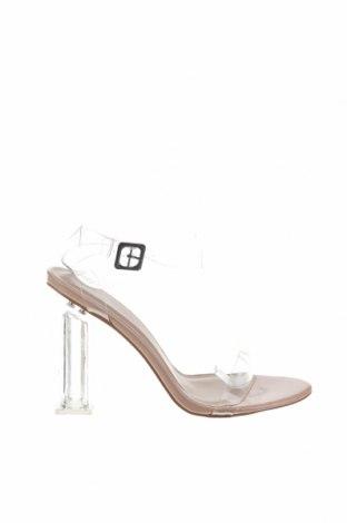 Σανδάλια Boohoo, Μέγεθος 40, Χρώμα Λευκό, Πολυουρεθάνης, Τιμή 13,40€