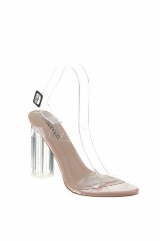 Σανδάλια Boohoo, Μέγεθος 40, Χρώμα Λευκό, Πολυουρεθάνης, Τιμή 14,74€