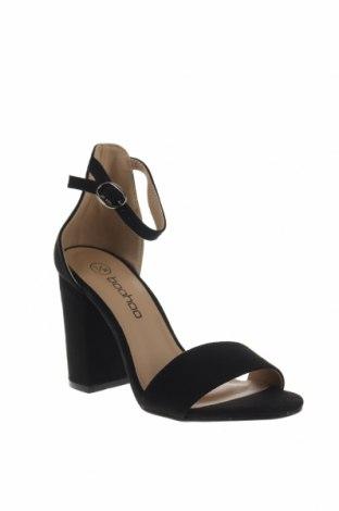 Σανδάλια Boohoo, Μέγεθος 36, Χρώμα Μαύρο, Κλωστοϋφαντουργικά προϊόντα, Τιμή 16,12€