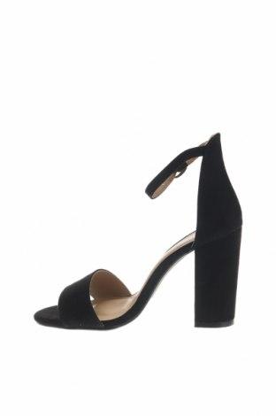 Σανδάλια Boohoo, Μέγεθος 36, Χρώμα Μαύρο, Κλωστοϋφαντουργικά προϊόντα, Τιμή 14,74€