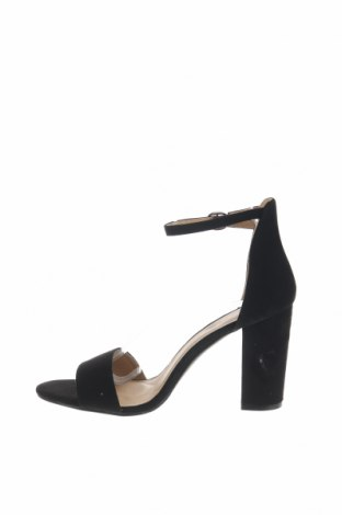 Σανδάλια Boohoo, Μέγεθος 40, Χρώμα Μαύρο, Κλωστοϋφαντουργικά προϊόντα, Τιμή 16,12€