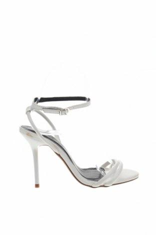 Σανδάλια Boohoo, Μέγεθος 36, Χρώμα Λευκό, Δερματίνη, Τιμή 15,54€