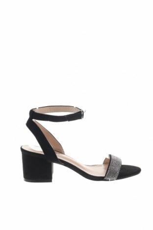 Sandály Boohoo, Velikost 39, Barva Černá, Textile , Cena  385,00Kč