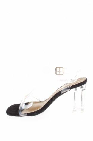 Сандали Boohoo, Размер 36, Цвят Бял, Полиуретан, Цена 29,50лв.