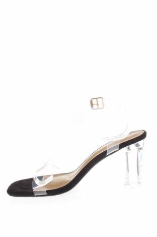 Сандали Boohoo, Размер 40, Цвят Бял, Полиуретан, Цена 29,50лв.