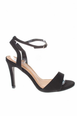 Σανδάλια Boohoo, Μέγεθος 39, Χρώμα Μαύρο, Κλωστοϋφαντουργικά προϊόντα, Τιμή 14,60€