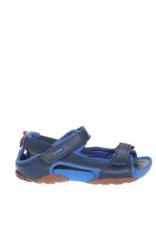Σανδάλια Camper, Μέγεθος 34, Χρώμα Μπλέ, Γνήσιο δέρμα, κλωστοϋφαντουργικά προϊόντα, Τιμή 24,74€