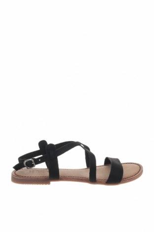 Сандали Gioseppo, Размер 40, Цвят Черен, Естествена кожа, Цена 33,82лв.