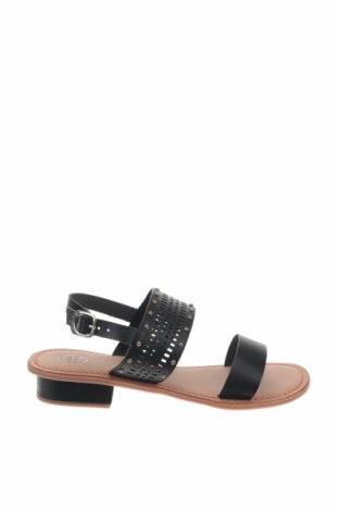 Сандали Gioseppo, Размер 38, Цвят Черен, Естествена кожа, Цена 35,60лв.