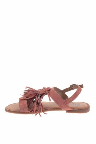 Σανδάλια Gioseppo, Μέγεθος 37, Χρώμα Ρόζ , Φυσικό σουέτ, Τιμή 21,58€