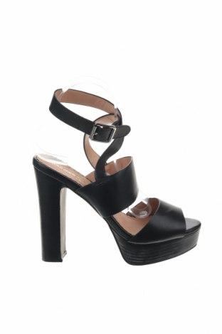 Σανδάλια Head Over Heels, Μέγεθος 39, Χρώμα Μαύρο, Δερματίνη, Τιμή 18,85€
