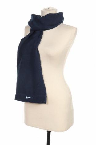 Шал Nike, Цвят Син, 100% полиестер, Цена 18,90лв.