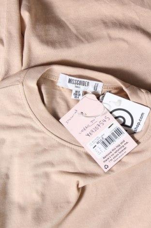 Τουνίκ Missguided, Μέγεθος S, Χρώμα  Μπέζ, Τιμή 11,66€