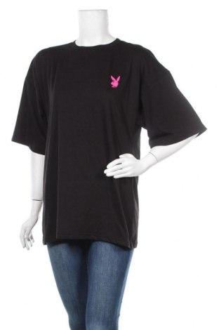 Туника Playboy x Missguided, Размер S, Цвят Черен, 55% полиестер, 45% памук, Цена 30,42лв.