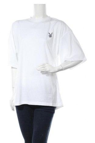 Τουνίκ Playboy x Missguided, Μέγεθος S, Χρώμα Λευκό, Τιμή 11,14€