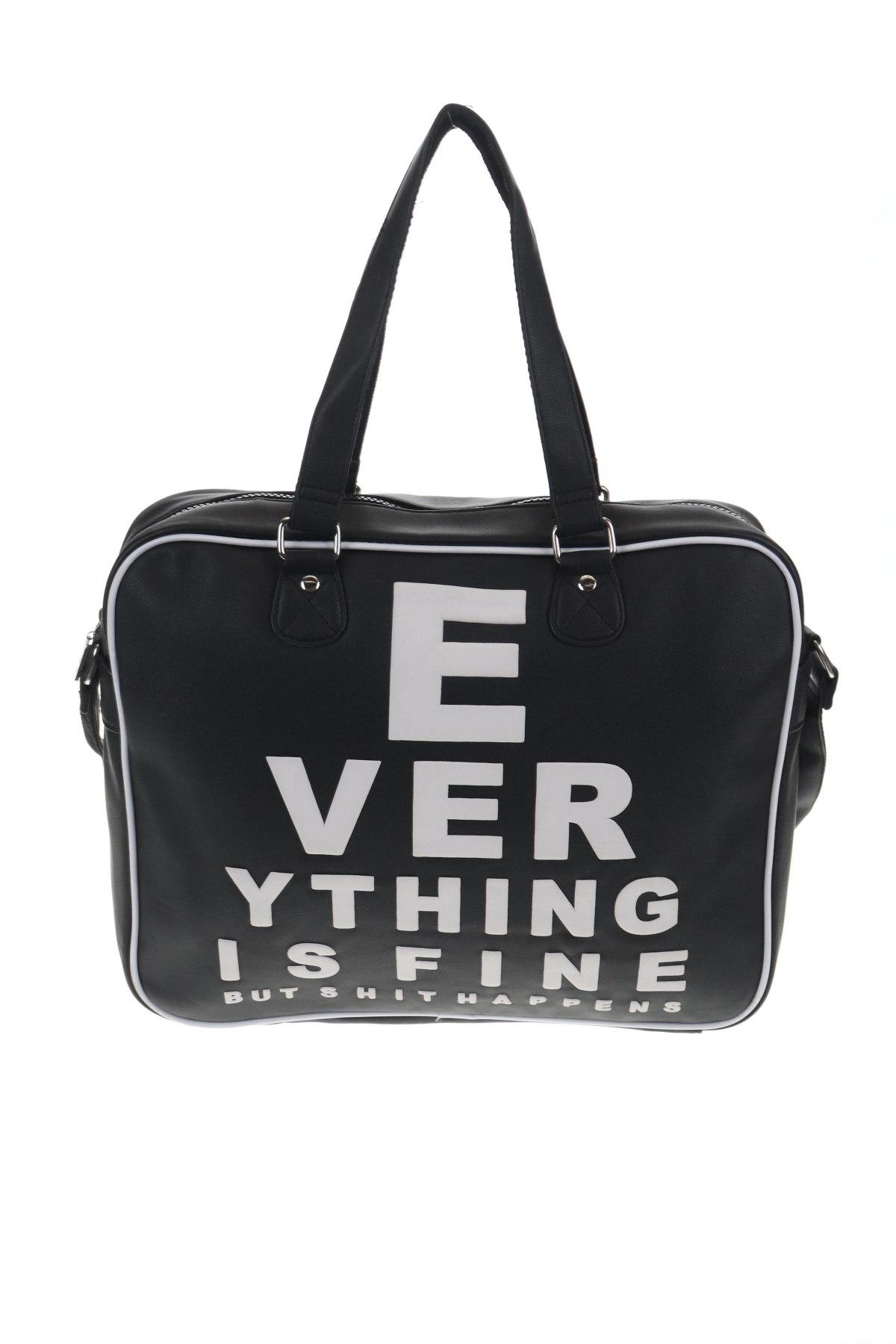 Чанта, Цвят Черен, Еко кожа, Цена 39,00лв.