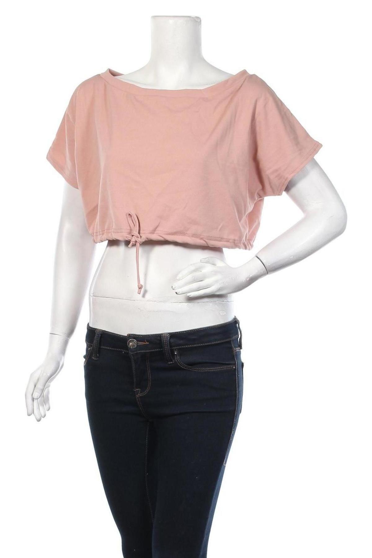 Дамска блуза Stylewise, Размер S, Цвят Розов, 95% полиестер, 5% еластан, Цена 13,00лв.