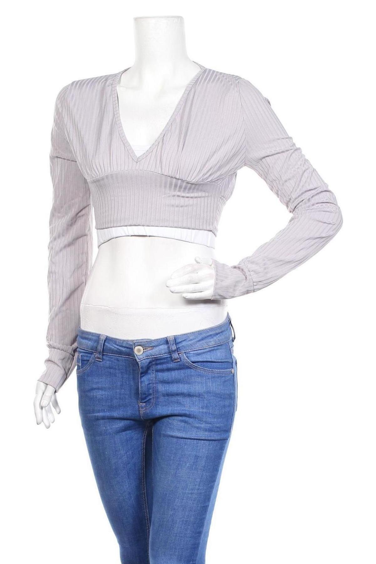 Дамска блуза Stylewise, Размер S, Цвят Лилав, 95% полиестер, 5% еластан, Цена 6,80лв.