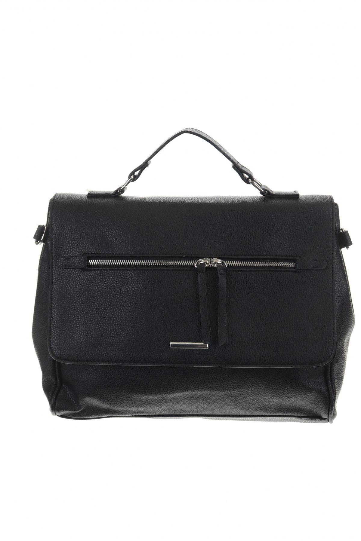 Дамска чанта House, Цвят Черен, Еко кожа, Цена 24,96лв.