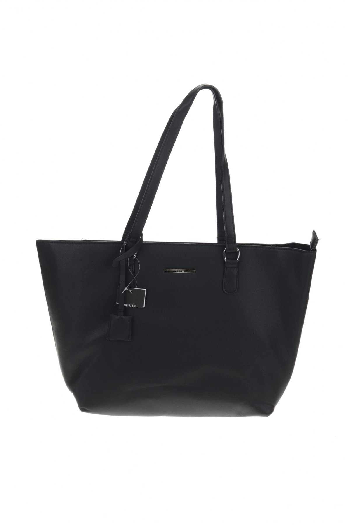 Дамска чанта House, Цвят Черен, Еко кожа, Цена 33,12лв.