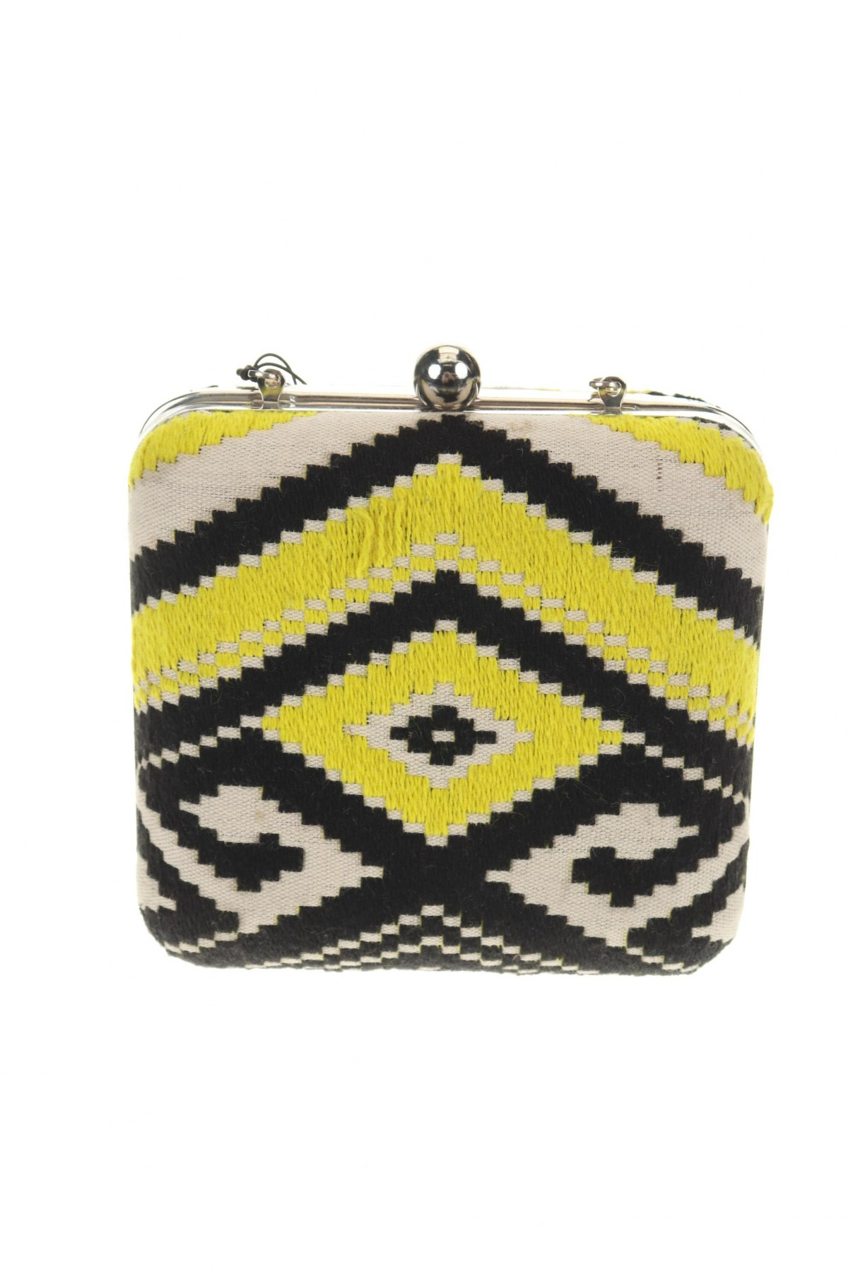 Дамска чанта Parfois, Цвят Многоцветен, Текстил, Цена 18,72лв.
